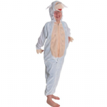 LAMB SHEEP ALL IN ONE CHILDRENS FANCY DRESS COSTUME